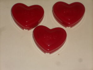 Lot Of 3 Build A Bear Heartbeat Vibrating Heart Shaped Heartbeat Effect For BAB