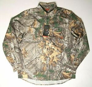 Under Armour Mens Realtree Camo Fish Hunt Shirt 1255090 NWT $79 FREE SHIP $26.99