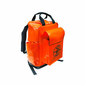 Lineman Backpack, Orange 1EA