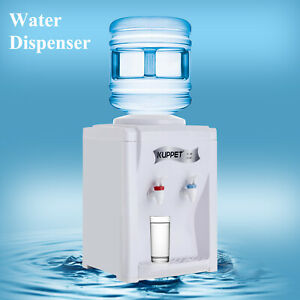 Electric Dispenser Hot and Cold Water Cooler 3-5 Gallon Home Office Use Desktop