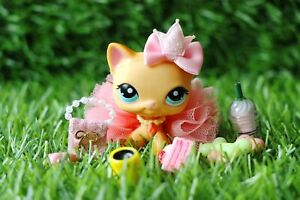 11PC Clothes Accessories Custom for Littlest Pet Shop LPS Skirt Bows Collars