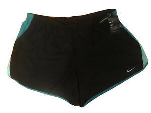 NEW Nike 10K Women's 6 Running Athletic Gym Tempo Shorts Plus Size 2X Black $21.21