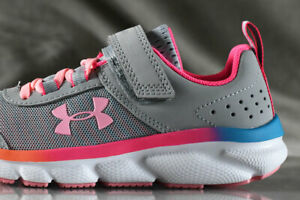 UNDER ARMOUR ASSERT 8 shoes for girls, NEW & AUTHENTIC , US size YOUTH 2 $42.99