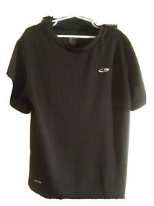 Champion Dry Fit Black youth t Shirt Boys Size 8 10 $1.70