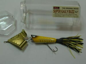 Zeal Super Gaily Buzz 38 Yellow Bass Snake Head hard lure freshwater noisy new