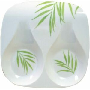 Corelle Coordinates By Melamine Double Spoon Rest Bamboo Leaf For Stove Kitchen $15.99