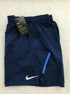 "Nike Men's Flex Stride 5"" Lined Running Shorts AT4000 Blue 492 Size LARGE $32.99"