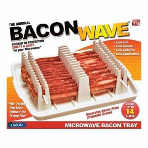 USED-  Missing pieces Emson Bacon Wave, Microwave Bacon Cooker