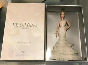 Barbie 2008 Vera Wang Bride Romanticist Platinum Label NRFB Blonde Doll