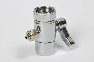 Faucet Adapter Diverter Valve Counter Top Water Filter Connect to 1 4quot; Tubing US