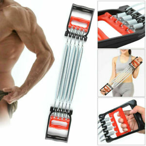 NEW Chest Expander Exercise Muscle Pulling Gym Handle Resistance Training