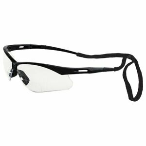 ERB Octane Bifocal Clear Safety Glasses W Neck Cord Magnifier Reader Reading $9.54