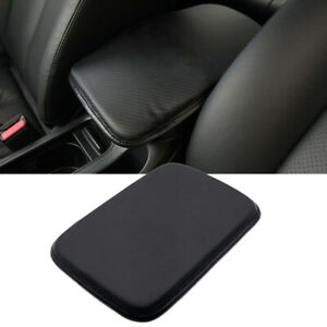 Car PU Leather Armrest Pad Center Console Cushion Mat Cover Protector Universal $7.75