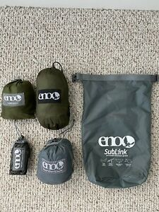 ENO (Eagle Nest Outfitters) Sublink System Sub6 Helios Straps Guardian SL Bug