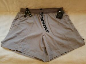 "Nike Men's Flex Stride 7"" 2 in 1 Lined Running Shorts Sz XXL Grey AJ7782 056 NWT $43.95"