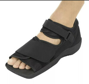 Vive Post Op Shoe Lightweight Medical Walking Boot Size: Small Right Or Left $17.50