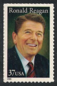 Scott 3897 Ronald Reagan US President MNH S A 37c 2005 unused mint stamp