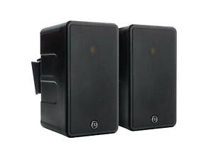 Monitor Audio Black Climate 60 Outdoor Weather Resistant Speakers $650.00