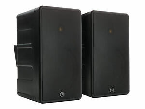 Monitor Audio Black Climate 80 Outdoor Weather Resistant Speakers $800.00