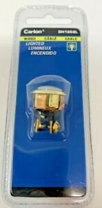 Carlon Gold Lighted Push-Button Fast Free Shipping!