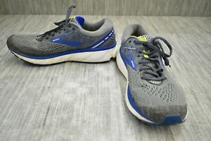 Brooks Ghost 11 Running Shoes, Men's Size 11 D, Gray $40.10