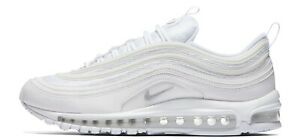Nike Men's Air Max 97 SIZE 8 13 Triple White 100% Authentic, Brand NEW $150.00
