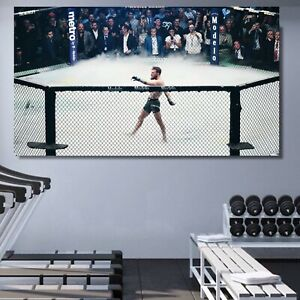 Conor McGregor Walk UFC FRAMED Canvas Wall Art Choose Size Ready To Hang