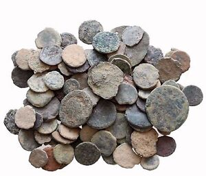 1 LOT OF 24 AE ANCIENT amp; ROMAN COINS AND ALWAYS BONUS COINS ADDED. $32.29