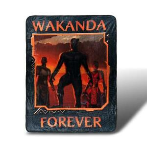 Black Panther Wakanda Forever Lightweight Fleece Throw Blanket 45 x 60 inches