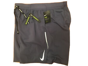 "$50 NEW Nike Men's Flex Stride 7"" 2 in 1 Lined Running Shorts AJ7784 XL Blue Fog $37.36"