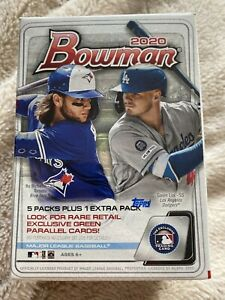 2020 Topps Bowman 1 Retail Blaster Box 72 Cards Per Box New and In Hand