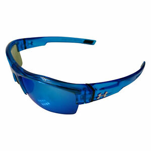 NEW Under Armour Igniter Sunglasses UA Crystal Blue Blue Multiflection Lens $58.98