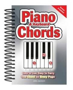 Piano amp; Keyboard Chords: Easy to Use Easy to Carry One Chord on Eve GOOD $8.62