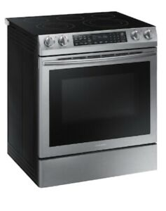 Samsung Smooth Surface 5 Elements Convection Slide-in Electric Range Stove Oven