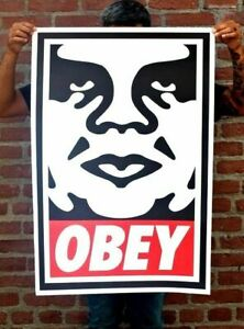 Signed Shepard Fairey OBEY Icon Lithograph Obey Andre Giant 24 x 36 $45.00