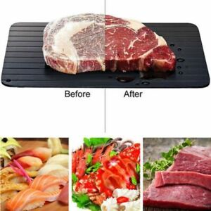 Fast Defrosting Tray Thaw Frozen Food Meat Fruit Quick Defrosting