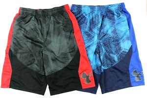 Under Armour Heat Gear Lot of 2 Basketball Shorts Size Youth X Large YXL $22.99