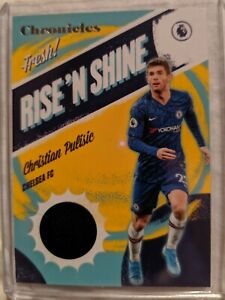 2019 20 Panini Chronicles CHRISTIAN PULISIC RISE N SHINE JERSEY RELIC CHELSEA FC $20.00