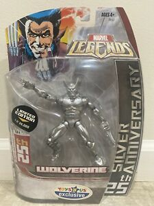 HASBRO Marvel Legends WOLVERINE 25th Silver Anniversary LTE 1 FREE COMIC $12.50