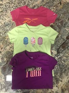 Girls Dri fit Sz 8 10 S Athletic Shirts $2.70