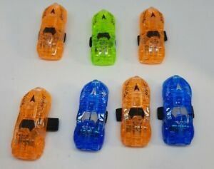 ☆ LOT 7 LED Car Finger Lights Kids Party Favors Ring FREE SHIPPING