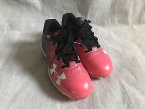 Toddler Girls UA Softball Cleats 12 $6.99