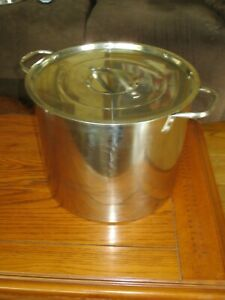 Stainless Steel Stock Pot ~ Works great for Corn on the Cob, Crawfish