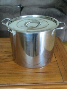 Stainless Steel Stock Pot ~ Works great for Corn on the Cob, Crawfish & Crabs