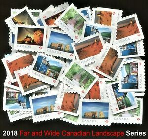 50 CANADA P STAMPS Uncancelled with no gum FACE VALUE $46