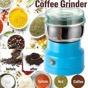 US Electric Herb/Spices/Nuts/Grains/Coffee Bean Grinder Mill Grinding Home