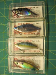 bill lewis rat-l-trap Bill Lewis Lures Fishing Lures Unknown Lures