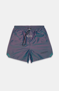 Fear of God Essentials Iridescent Nylon Running Shorts Size S L FAST SHIP