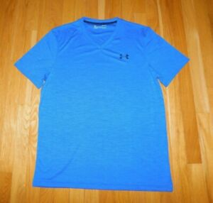 Under Armour HeatGear Short sleeve Loose Fitted T Shirt Color: Blue New $12.99
