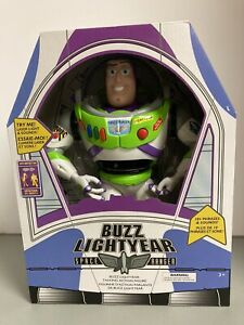 Disney Store Toy Story 4 Buzz Lightyear Interactive Talking Action Figure NEW $35.99